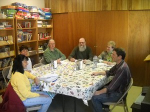 Meeting Time.  Join us!  We generally meet the 3rd Wednesday, 6:00 PM, at the Superior Senior Center